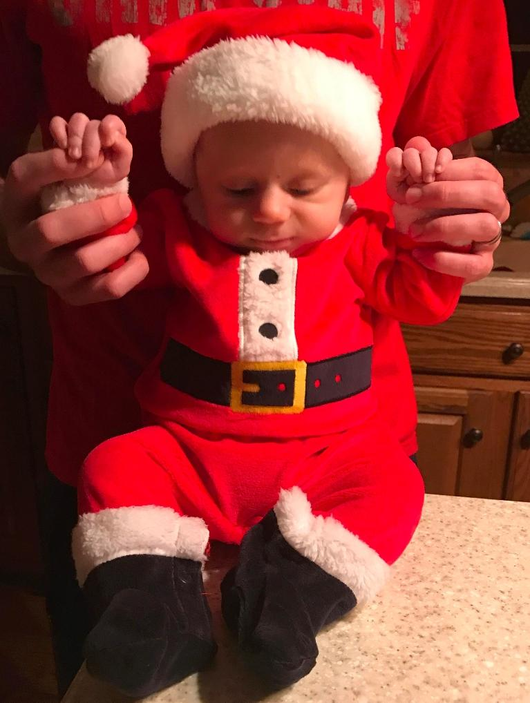 A Baby in A Santa Suit | Medina, OH Dentist