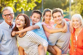 A family smiles together | Medina, OH Mercury-free dentistry