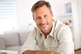 A man smiles | medina OH cosmetic dentist